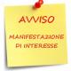AVVISO PER MANIFESTAZIONE DI INTERESSE.