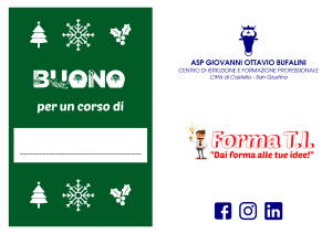 Progetto Christmas card RETRO